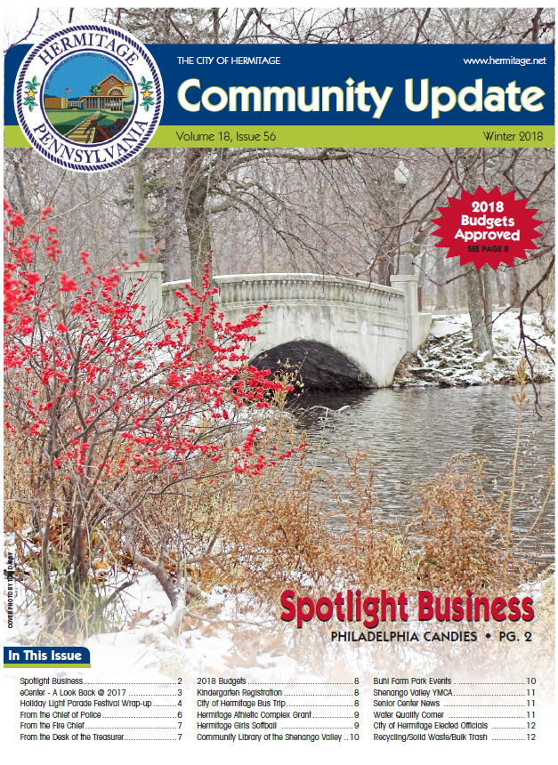 Winter 2018 Front Page