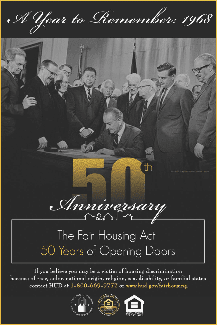 Fair Housing Act 50th Anniversary