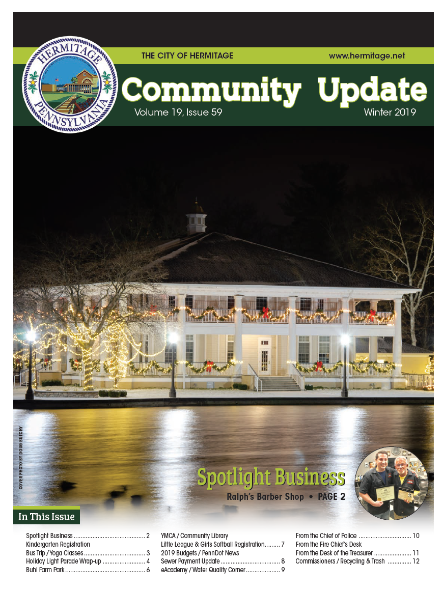 2019 Winter Newsletter Cover