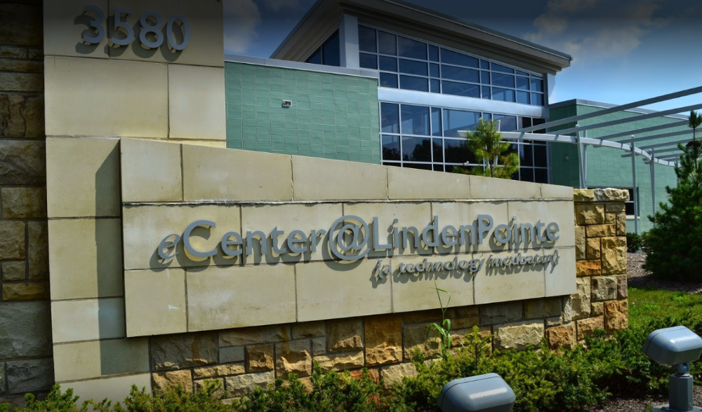 eCenter Front Sign