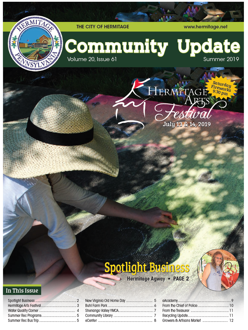 Summer 2019 Newsletter Cover