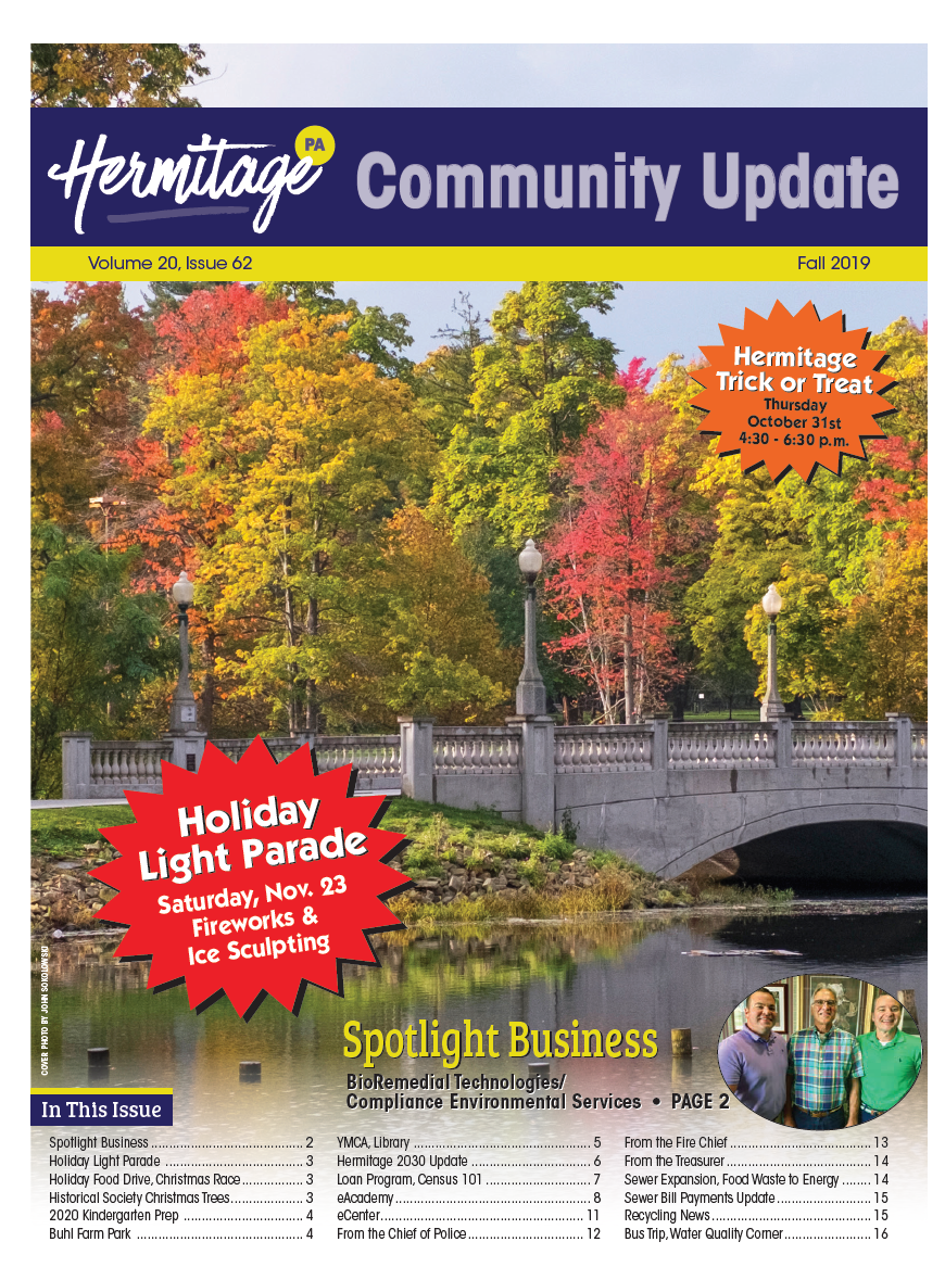 Fall 2019 Newsletter Cover