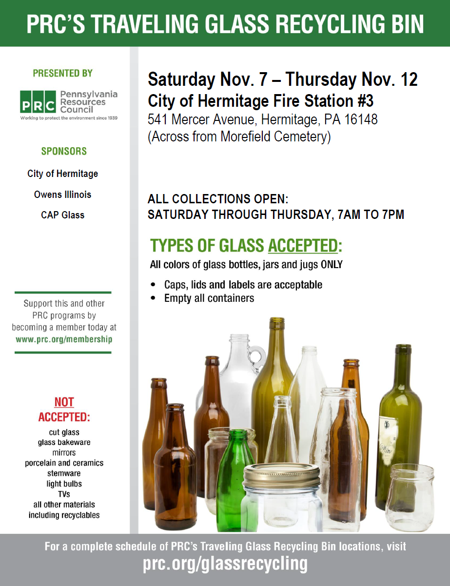 November 2020 Pop Up Recycling