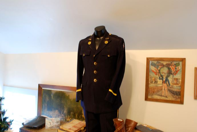 Uniform on display