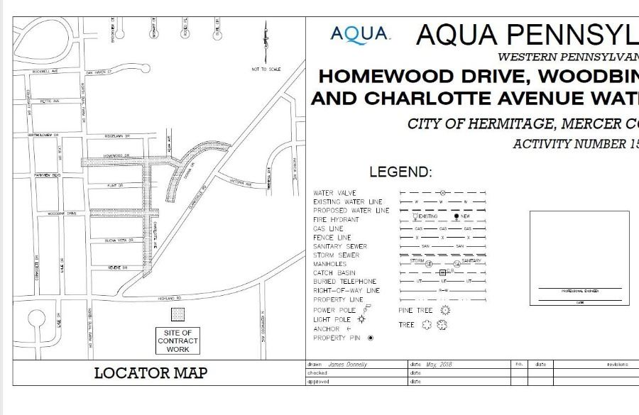 Homewood Group Map